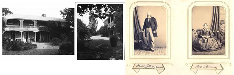 Photograph of Kelverton, property of Francis & Anna Maria Cotton