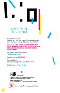 Artists in Residence Exhibition