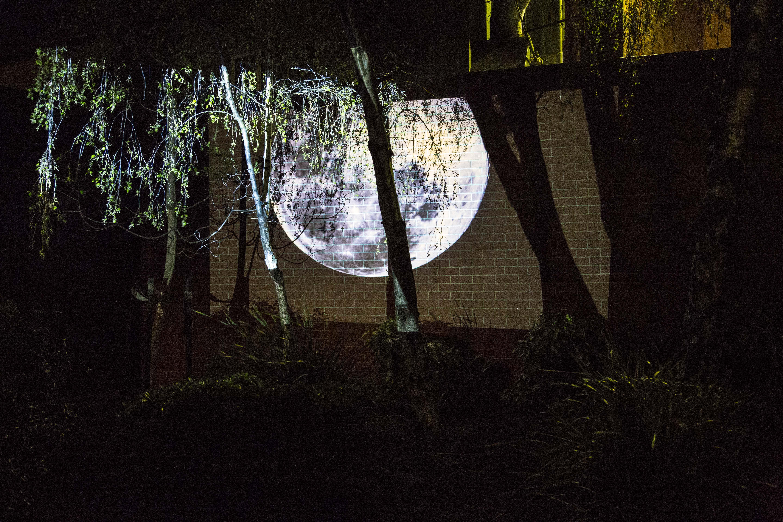 Ella Condon, Tracing Moonlight, 2015-2016, Digital Video, 10:00 mins