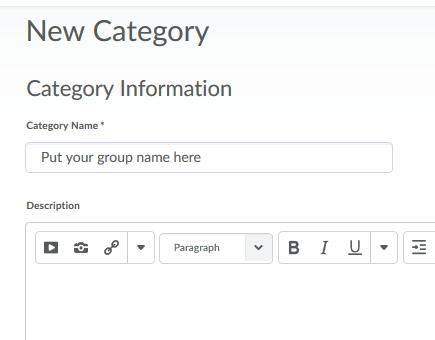 Create Groups 2