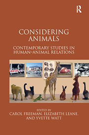 Book cover of Considering Animals