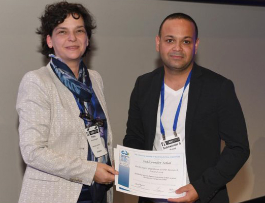 School of Health Sciences researcher recognised with award