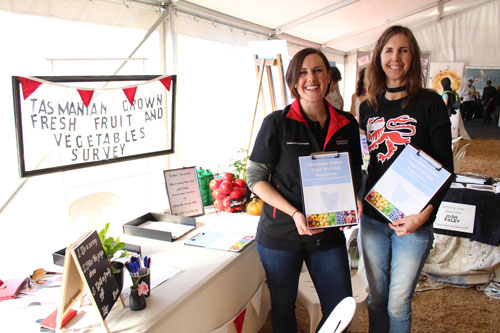 Agfest patrons inform healthy research on local produce
