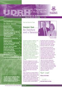 CRH Bulletin Image August 2003