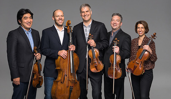Group holding String Instruments