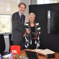 The High Commissioner of New Zealand visits the University