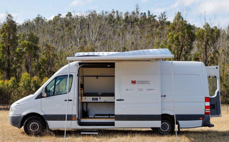 Busload of medical help for vulnerable Tasmanians