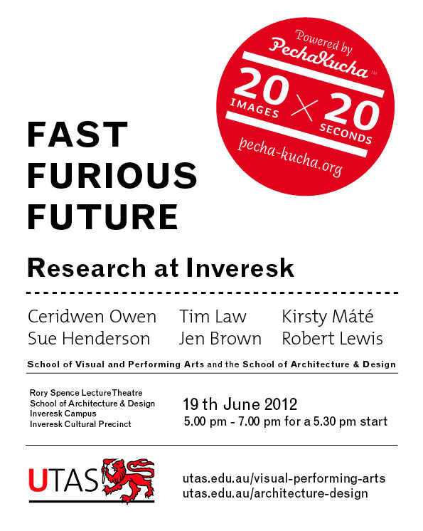 Fast Furious Future - Research at Inveresk