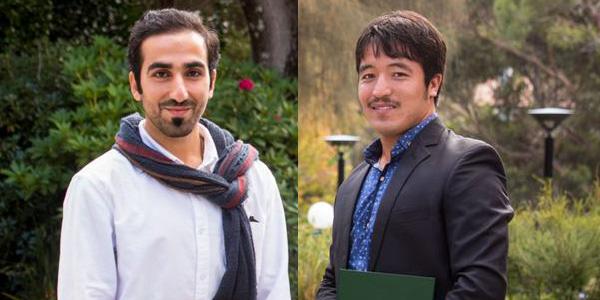 Clemente graduates Ali Almteri and Haji Mohammad Alizada