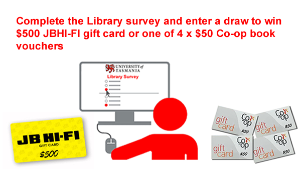Image of the Library Survey prize