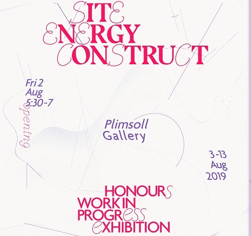 Site Energy Construct - Honours work in progress exhibition