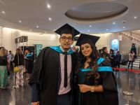 Sydney celebrates graduations