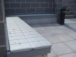 Recycled-plastic seating