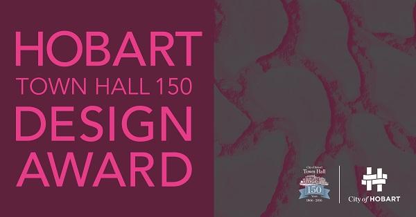Hobart City Council Town Hall Design Award banner image and Logo