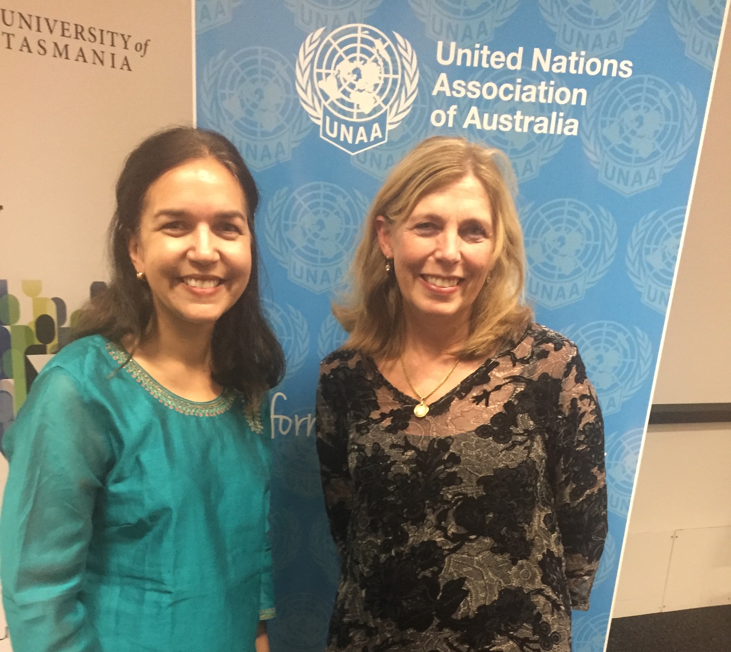 Senator Lisa Singh recently presented a seminar on her recent UN Secondment