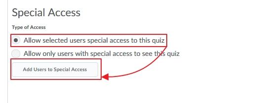 Quiz Special Access 3