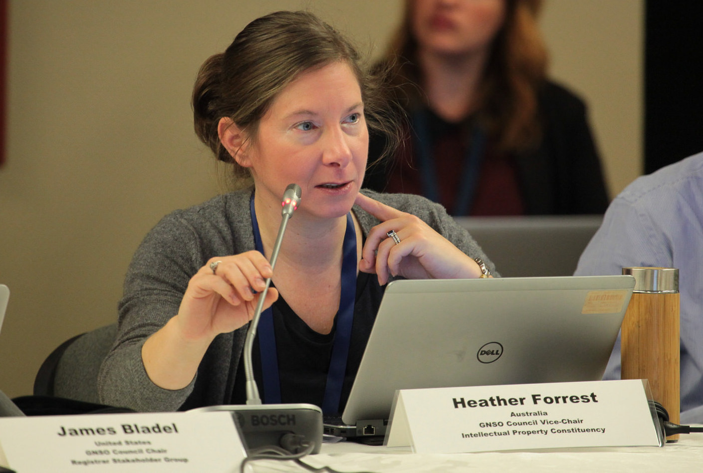 Law Faculty's Dr Heather Forrest attends international meeting of ICANN