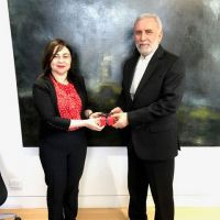 Extraordinary and Plenipotentiary Ambassador of The Islamic Republic of Iran visits the University of Tasmania