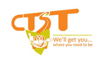 Community Transport Services Tasmania Inc. Logo