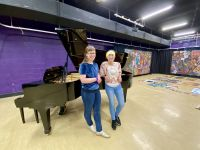 Hellyer College grand piano