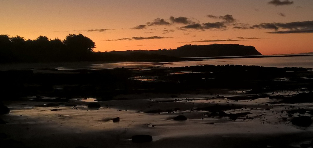 Table Cape at dusk