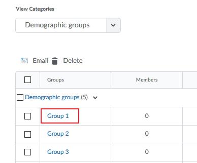Demographic Data 1