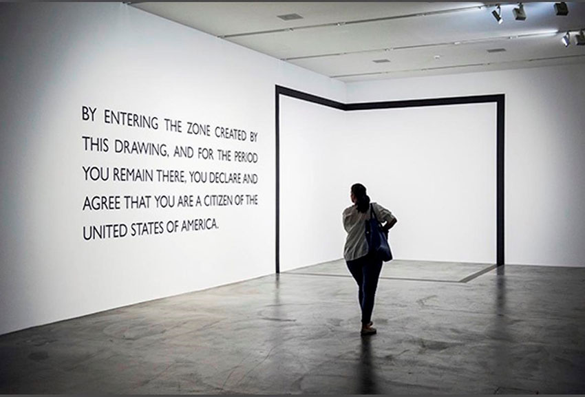 Toby Juliff. Image credit: Carey Young, Legal Fictions, Migros Museum Zurich 2013.