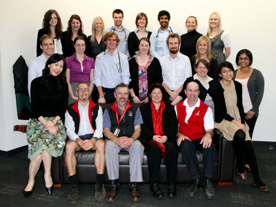 2010 Graduating Class and Academic Clinicians