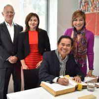 Partnership continues with Malaysian alumnus