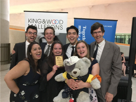 Quarter-Final Placing and Best and Fairest for Jessup Moot Team