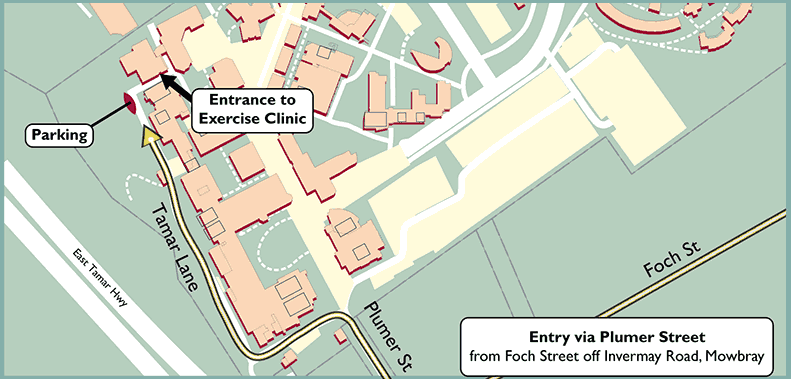 Exercise Physiology Clinic Location