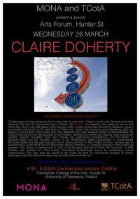 TCotA Forum - Claire Doherty