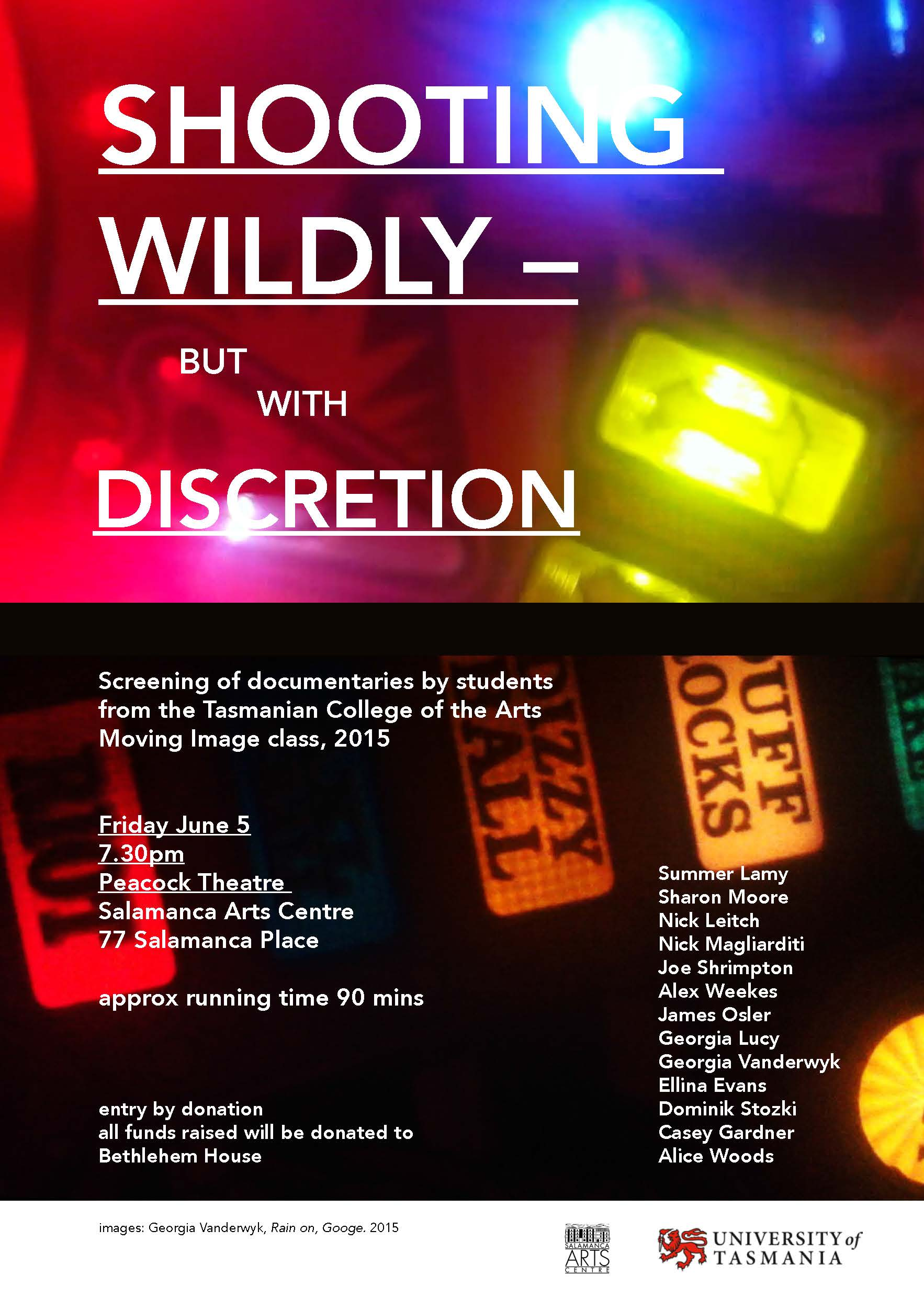 Shooting Wildy - but with Discretion Poster