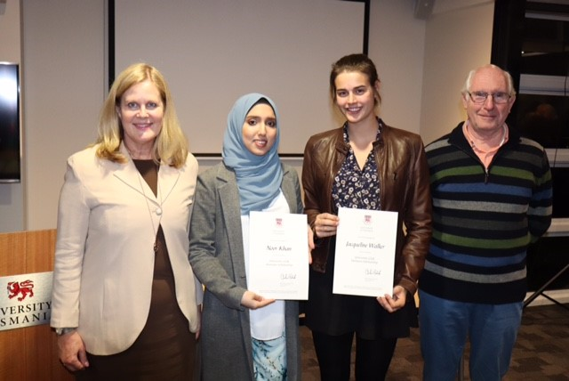 University Club Honours Scholarships support health research