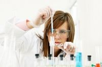 Image of Scientist at work