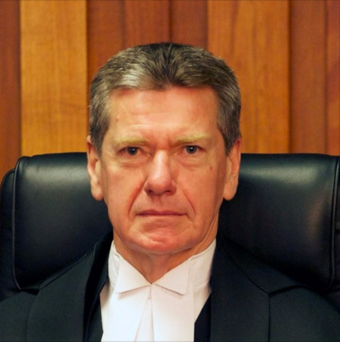A Career in Conflict, in conversation with The Honourable Justice David Porter