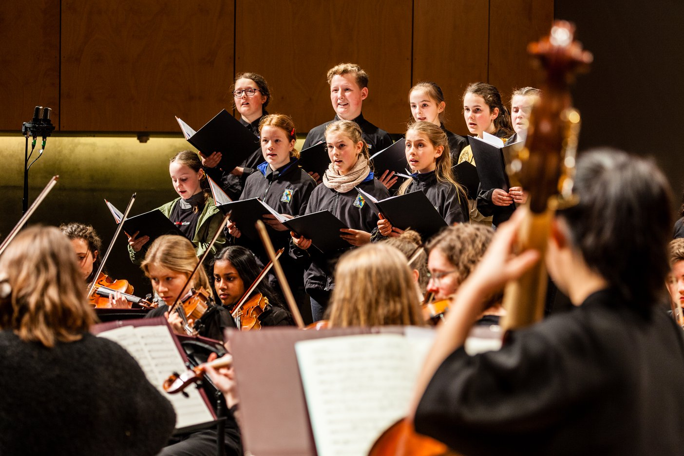 State-wide music program hits a high note for young participants