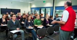 Dr Tom McDonagh teaching at the RCS