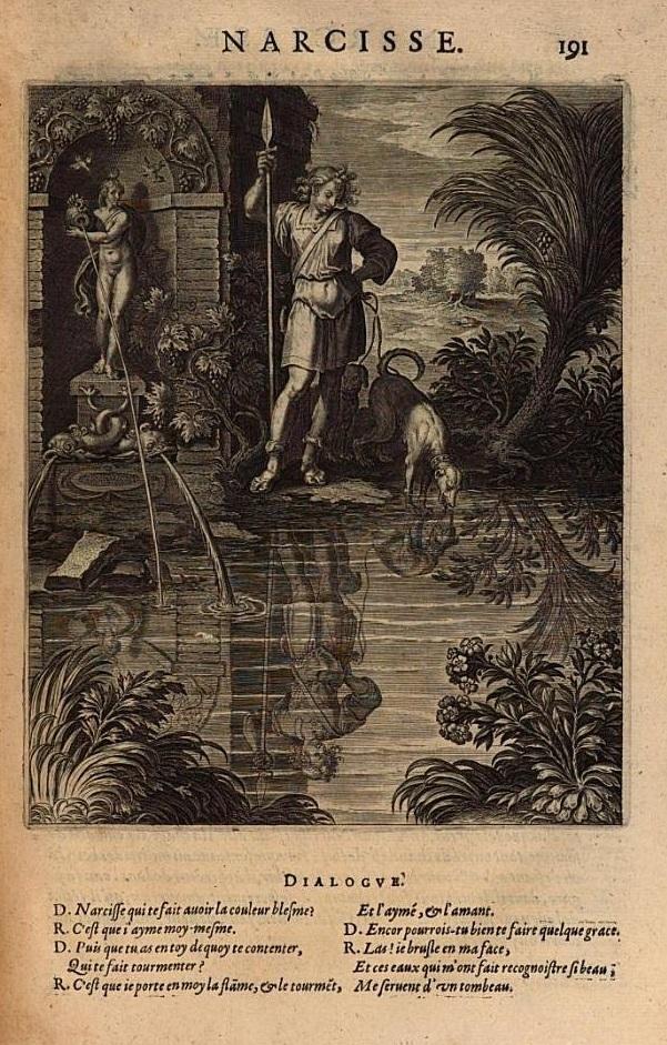Narcissus, Phlostratus, Blaise de Vigenere
