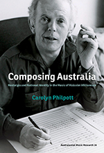 Book Cover | Composing Australia: Nostalgia and National Identity in the Music of Malcolm Williamson