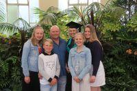 Family the rock for nursing graduate
