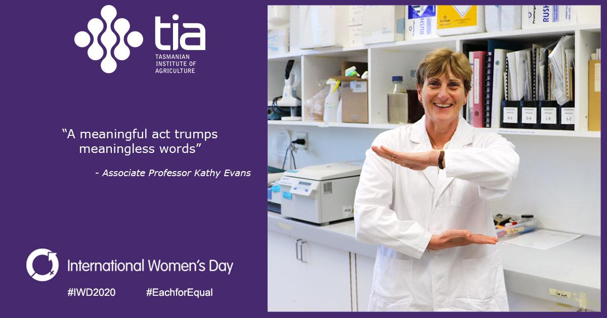 Kathy International Womens Day