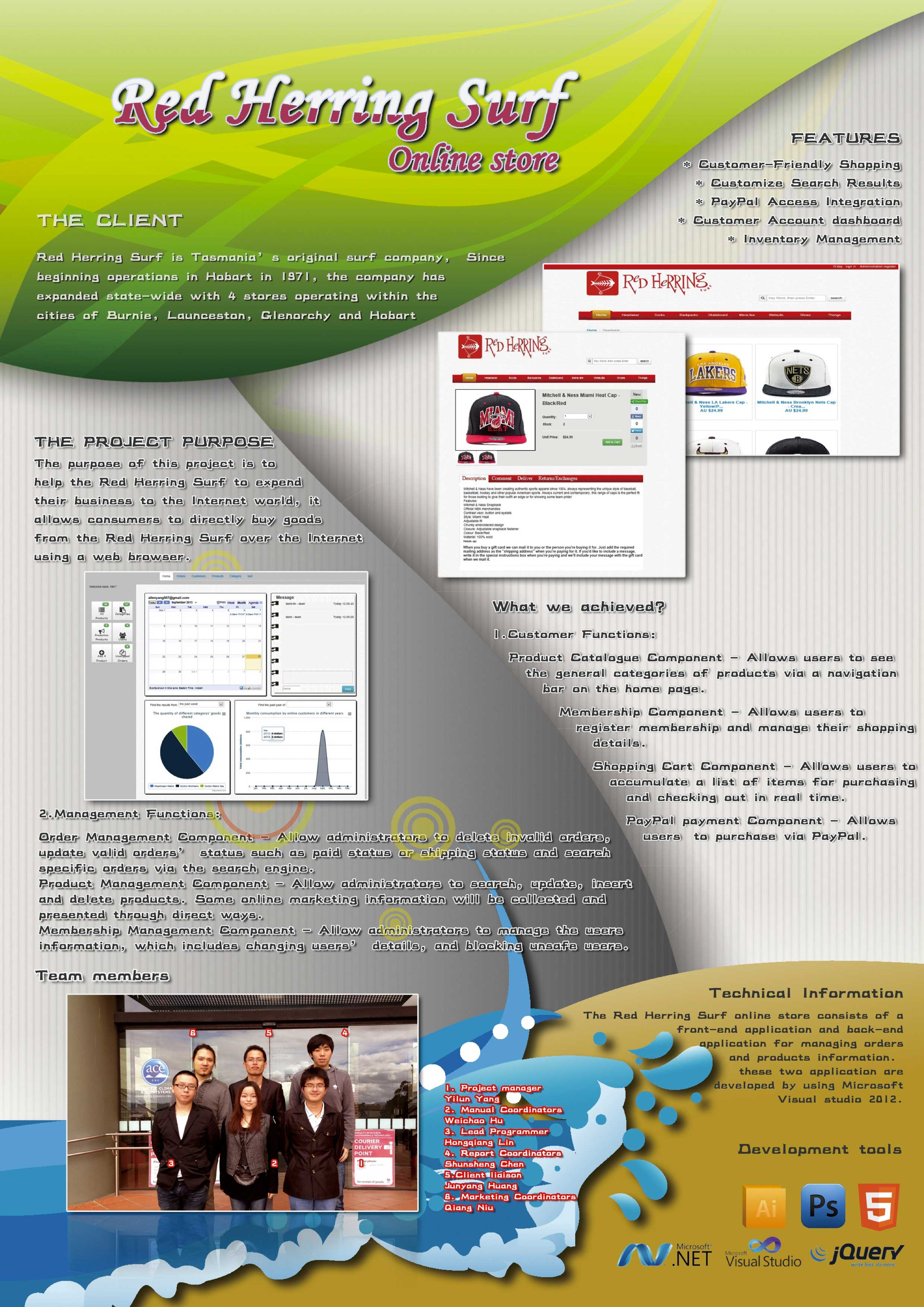 ICT Project - School of Technology, Environments and Design