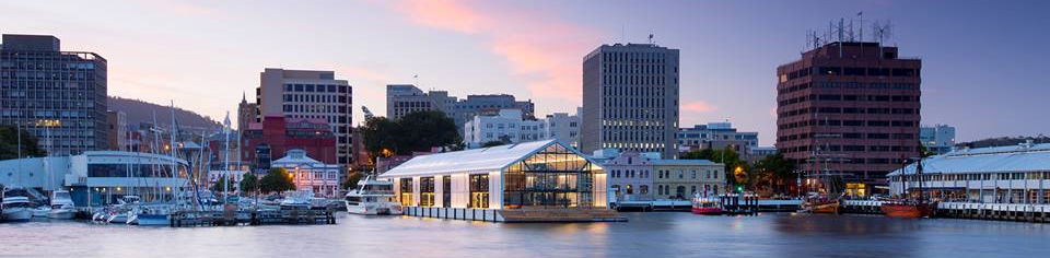 The Glass House, Hobart waterfront
