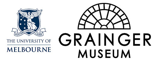 The Grainger Museum, University of Melbourne logo