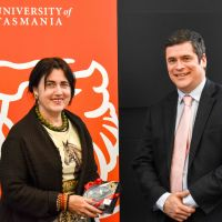 The Ambassador of Romania Visits the University of Tasmania