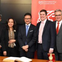 The University of Tasmania's relationship with Indonesia continues to grow