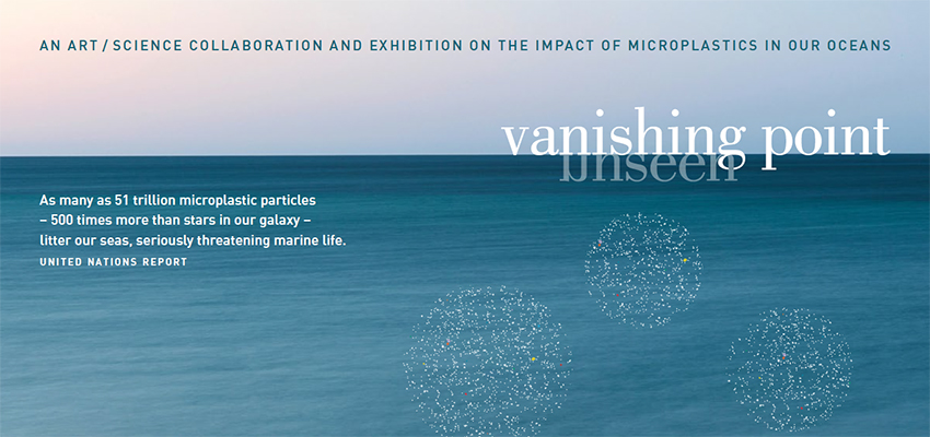 Vanishing Point - Unseen. Image Credit: Ocean photograph, Peter Walsh