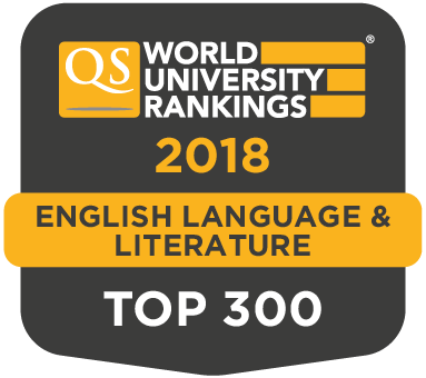 QS World Rankings by Subject 2018 | English Language & Literature | Top 300