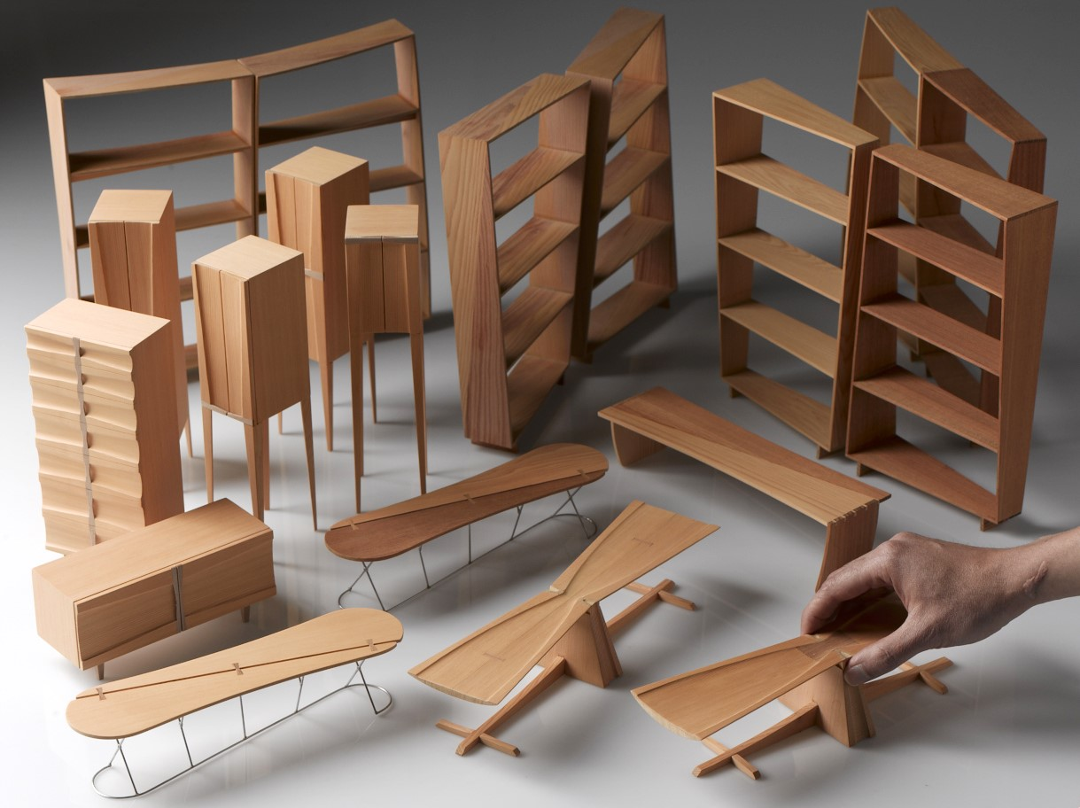 Model furniture. Chalit Kongsuwan.